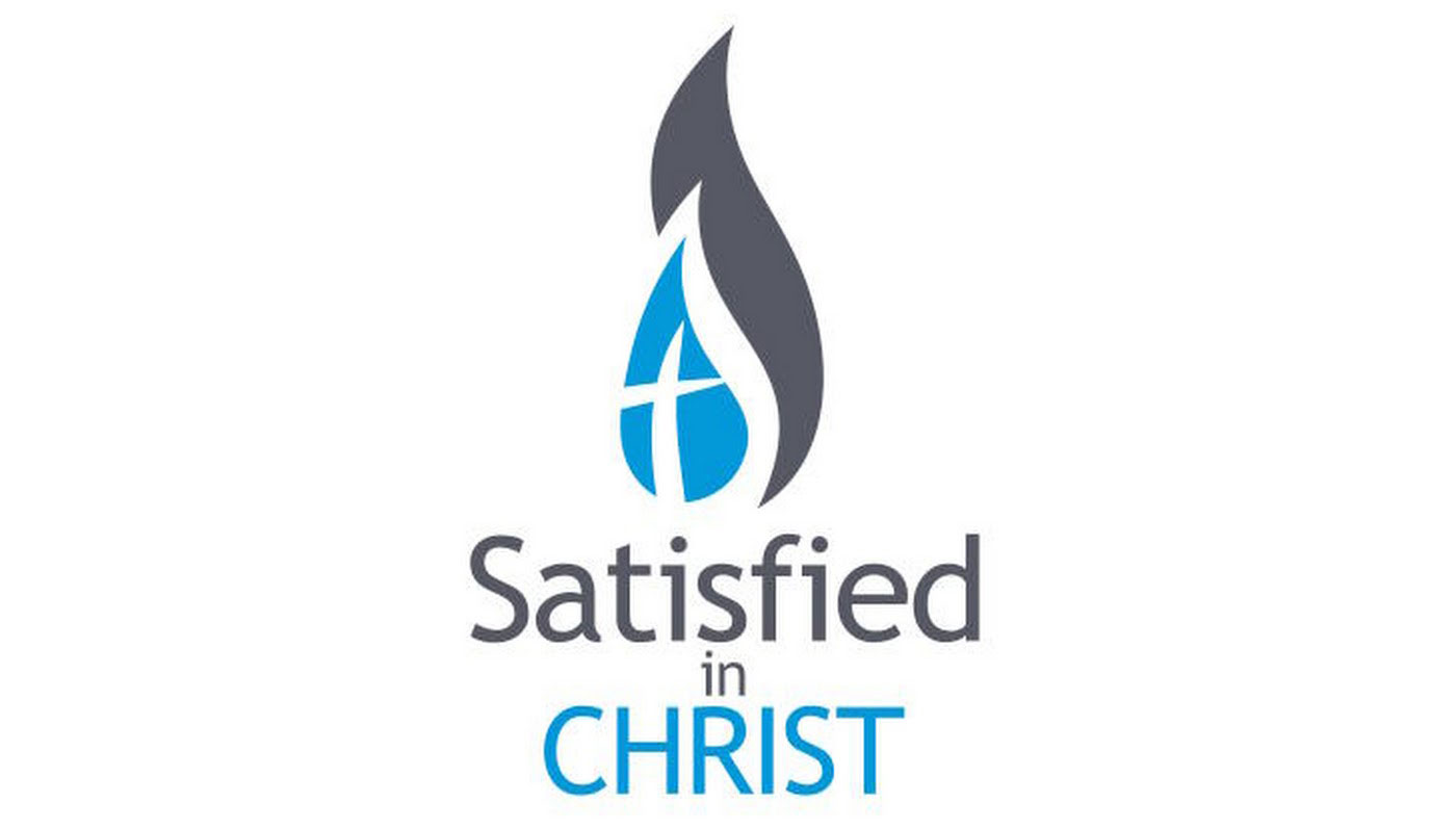 satisfied in christ logo