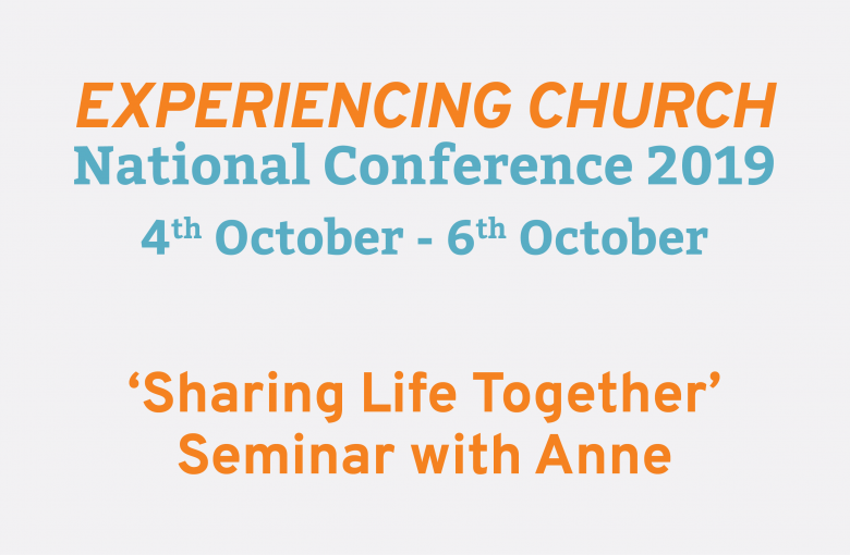 Sharing Life Together (TFT National Conference 2019 Seminar)