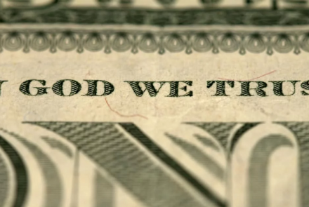 in god we trust dollar bill